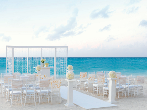 Purple shimmer for Best destination weddings locations